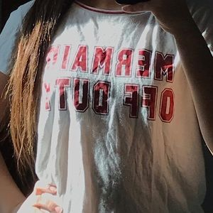 "Tops - ""Mermaid off duty"" t shirt"